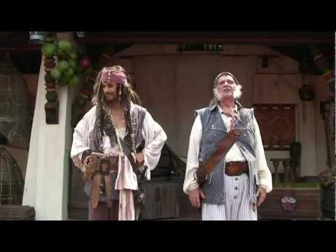 Captain Jack Sparrow's Pirate Tutorial in Adventureland at Magic Kingdom