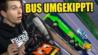getlinkyoutube.com-HILFE, MEIN BUS IST UMGEKIPPT! ✪ FERNBUS SIMULATOR mit LENKRAD