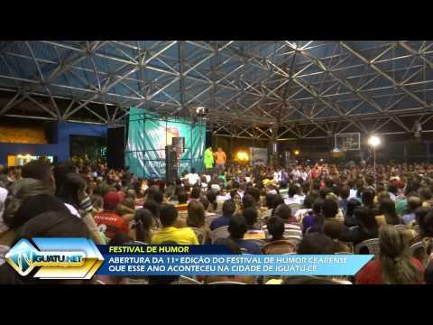 TV Iguatu.Net: Abertura do FHC com a presença de Tirulipa