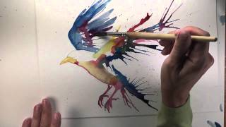getlinkyoutube.com-Birds in Watercolor and Beyond: The Colorful Bird - Lesson 5 Part 2