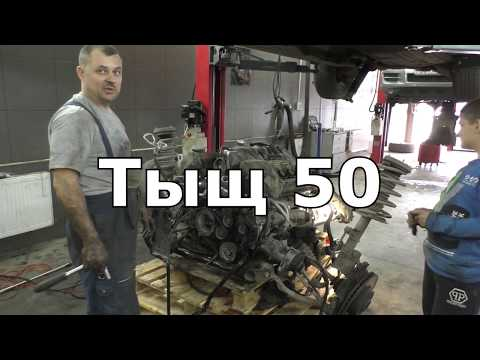 BMW X5 e53. Замена VANOS и цепей ГРМ. Мотор M62B44.