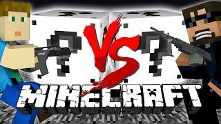 getlinkyoutube.com-Minecraft: WHITE LUCKY BLOCK CHALLENGE   Shooting Range!