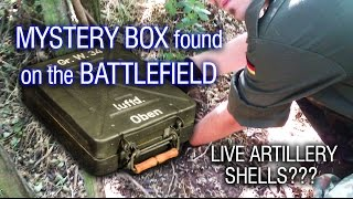 getlinkyoutube.com-MYSTERY BOX found in trench on WWII BATTLEFIELD