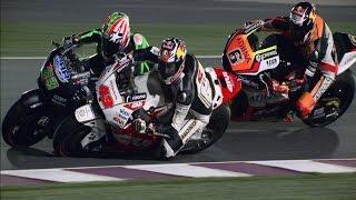 getlinkyoutube.com-MotoGP™ Qatar 2015 -- Best overtakes