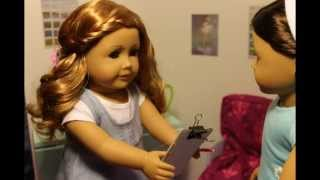 getlinkyoutube.com-Getting Ready for School ~AGSM~ American Girl doll Stop Motion