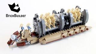 getlinkyoutube.com-Lego Star Wars 75086 Battle Droid Troop Carrier - Lego Speed Build