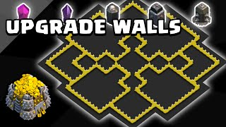"Clash of Clans | Town Hall 9 Wall Farming Base | ""The Mason"" 
