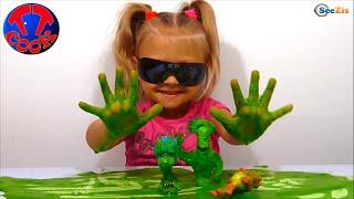 getlinkyoutube.com-✔ Фиксики с Девочкой Ярославой создают Искусственный Вулкан в Фикси Лаборатории ✔