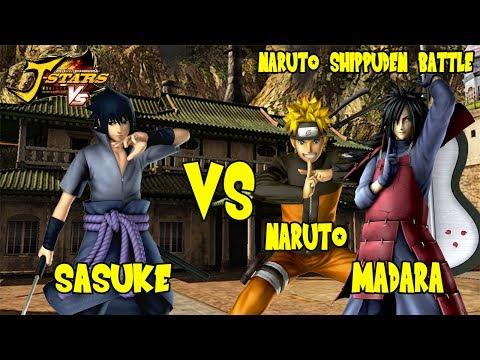 J-Stars Victory VS - Sasuke vs Naruto & Madara (Naruto Shippuden Battle)