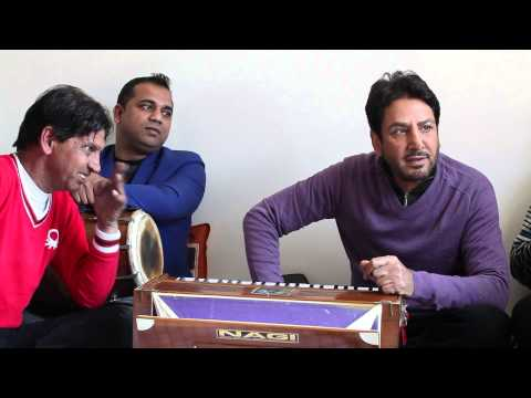 Kithe Tu Vi Kalla Sochi Ve | Behind The Scenes | Studio Session | Gurdas Maan
