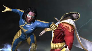 getlinkyoutube.com-Static All Special Moves Online battle :Injustice gods among us Android HD