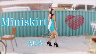 getlinkyoutube.com-AOA - Miniskirt Dance Cover