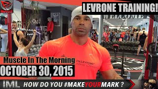 getlinkyoutube.com-LEVRONE TRAINING! - Muscle In The Morning October 30, 2015