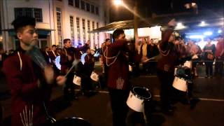 getlinkyoutube.com-Banda Vieja Metropoli, Desfile Nacional de Bandas 2014.