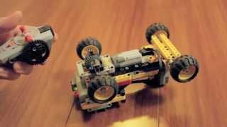 getlinkyoutube.com-Lego Technic Mini RC Car