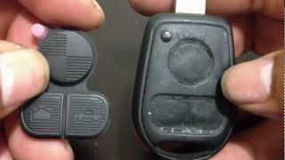 getlinkyoutube.com-How To Replacet 3 Buttons Rubber Key Pad 97-03 BMW E38 E39 E36 Z3 Z4 Z8 X3 X5t 5 SERIES M5