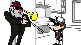 getlinkyoutube.com-When Mom isnt home parody / Gravity Falls