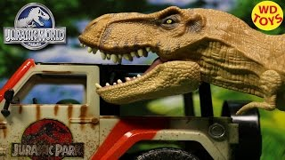 getlinkyoutube.com-New Jurassic World Chomping T-REX TYRANNOSAURUS REX 2015 Unboxing, Review By WD Toys