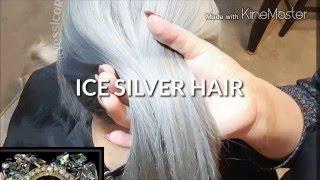 Cabello plata paso a paso / ICE SILVER HAIR