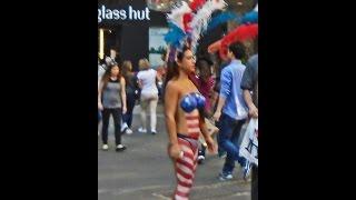 getlinkyoutube.com-Painted Ladies of Times Square Part VII
