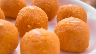 getlinkyoutube.com-Motichoor Ladoo Recipe | Perfect Motichur Laddus - Indian Sweet | Secrets Revealed