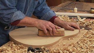 getlinkyoutube.com-Classical Guitar Making: How to Make a Back Work Board