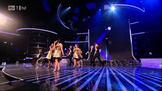 getlinkyoutube.com-The Cast Of Glee - Don't Stop Believing - X Factor Semi Final (FULL HD)