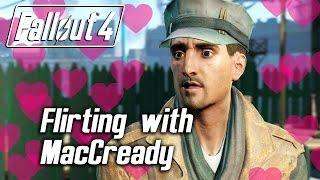 getlinkyoutube.com-Fallout 4 - Flirting with MacCready