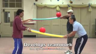 getlinkyoutube.com-Fun Activities using Foam Noodles