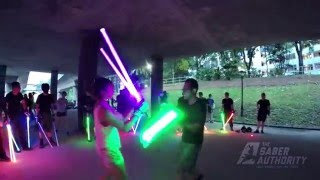 getlinkyoutube.com-Senior double saber duels from 15 May 2016 by The Saber Authority