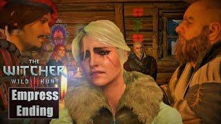 getlinkyoutube.com-Witcher 3 ★ Masterpiece Ending Ciri Empress End