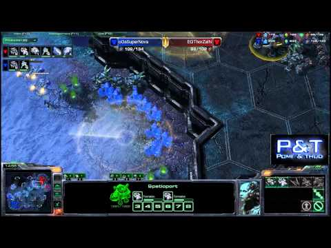 (HD586) Supernova vs Thorzain - TvT - Starcraft 2 Replay [FR]
