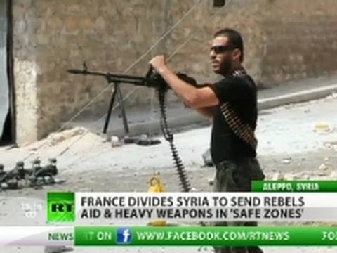 France to give heavy artillery to Syria rebels to 'smash Assad regime' -Gx7F4A7oStU