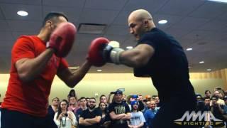 getlinkyoutube.com-UFC on FOX 17: Junior dos Santos Open Workout