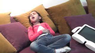 قناة اطفال ومواهب الفضائية مسابقة يوميات طفلة حلقة 10 رمضان 1435