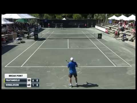 Fratangelo Fires No Look Backhand Hot Shot Savannah Challenger 2016