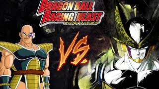 "getlinkyoutube.com-Dragon Ball Raging Blast - ""Villians Match"" | Perfect Cell Vs Nappa {Funny Commentary}"