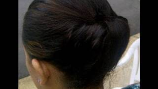 getlinkyoutube.com-Quick + Easy Updo Hairstyle - Great for hot days!