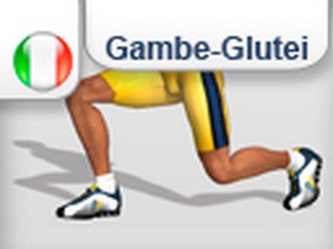 Come fare gambe e glutei - Esercizio Affondi inversi