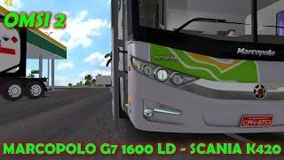 getlinkyoutube.com-OMSI 2: Viajando de LD G7 Brasil Sul - Tráfego maluco - Mapa Brasil Viagem