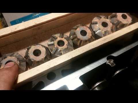 Прирезка сёдел клапанов дв NE 1.8 Ауди80.