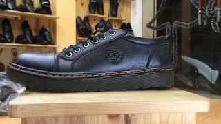 getlinkyoutube.com-Giày Dr. Martens sản xuất bởi 3V - Da thật 100%