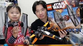 getlinkyoutube.com-カッチョいい☆ LEGO STAR WARS First Order Special Forces TIE Fighter 75101