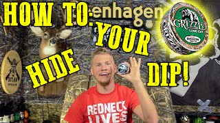 getlinkyoutube.com-Grizzly Camo Can! How to hide your dip!