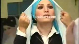 getlinkyoutube.com-تعليم ربطات و لفات الحجاب مع الحوريه نانيس سليم.