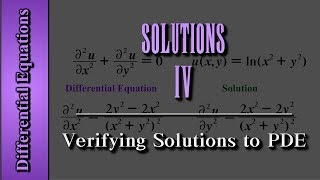 getlinkyoutube.com-Differential Equations: Solutions (Level 4 of 4) | Verifying Solutions to PDE