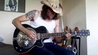Dobro Harley Benton, straight to...the blues ! (Open D tuning)