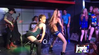 getlinkyoutube.com-Mocha Girls Franz and Mae twerk like Miley Labolabz Style