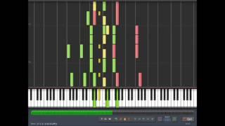getlinkyoutube.com-Knight of the Wind ~ Piano Tutorial 100% Speed