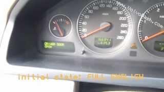 getlinkyoutube.com-Change language - Volvo XC90 2005 - DIM + ICM
